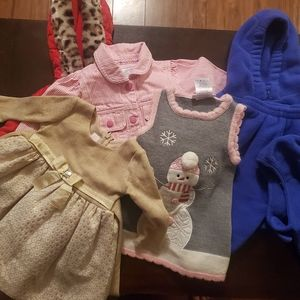 7 Piece Winter Coat Outfits Size 12 M